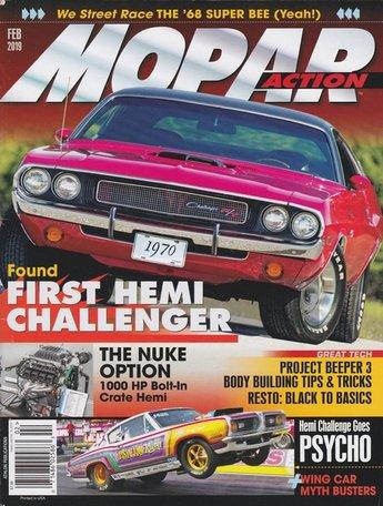 Mopar Action Magazine