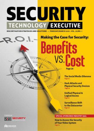 Security Technology Executive Magazine
