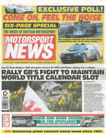 Motorsport News Magazine