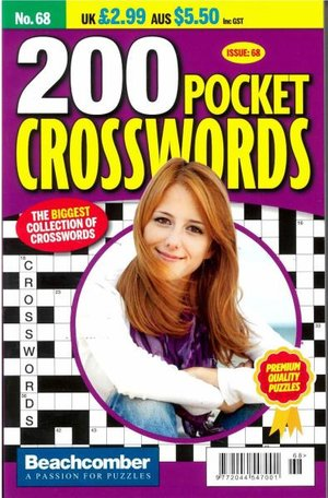 200 Pocket Crosswords Magazine